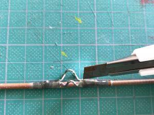 釣竿 ガイド 修理 針金