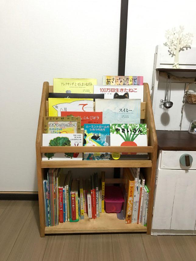 子供用本棚  DIY 完成