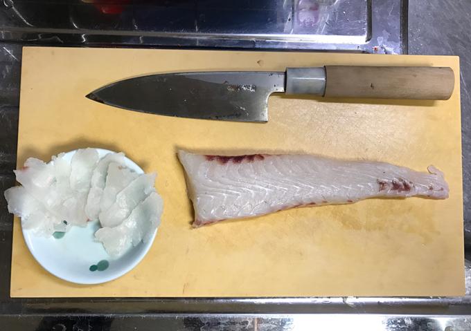 南房ヒラメと小鯖