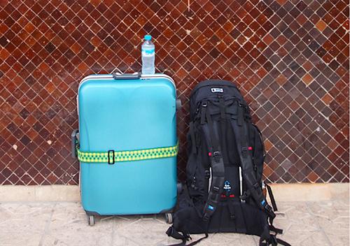 スーツケースバックパック