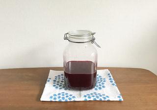 【シソジュース/レシピ】効能たっぷり健康ドリンク。赤シソジュースの作り方