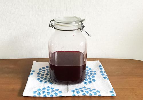 炭酸水と梅シロップでマイボトルを作る