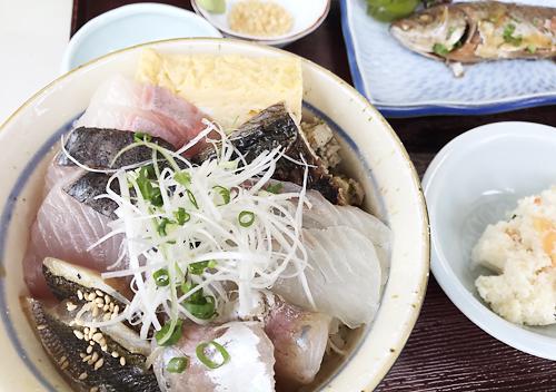 館山食堂だいぼ海鮮丼