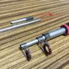 【釣竿の修理】テープで簡単。根元で折れた振出竿を自分で修理してみた!