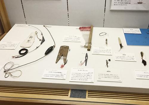 館山渚の博物館の漁具