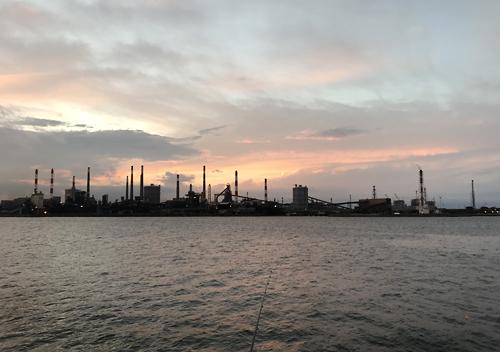 鹿島港の釣り場探索_公共埠頭やヘッドランド