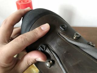 【登山/登山靴】初期メンテナンス。オイルと撥水スプレーで革靴をお手入れ。