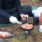 【登山/テント飯】冬山に嬉しい体温まる塩ちゃんこ鍋。お手軽簡単な山レシピ!