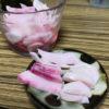 【おつまみ/日野菜かぶ】酢漬けにしたら綺麗なピンクに染まりました!