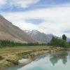 【パキスタン/パンダール】イスラム圏を旅する.4 ~エメラルドに輝く川沿いのオアシス~