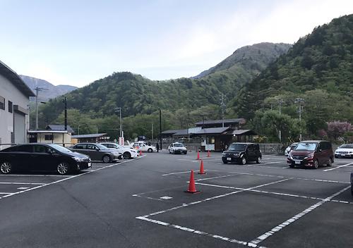 上高地_沢渡駐車場からタクシー