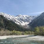 【登山/岳沢小屋】上高地から穂高連峰へ。5月初夏の残雪を歩く。
