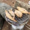 【登山/キャンプ飯】フグの炙りにタラ肝缶!山に来て海の幸を楽しむテント泊!