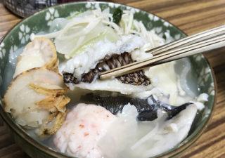 【釣り/レシピ】渋々持ち帰ったベラをお鍋にしたら絶品でした!