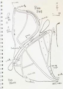 地図 ラオス メコン川 デット島 バックパッカー 一人旅