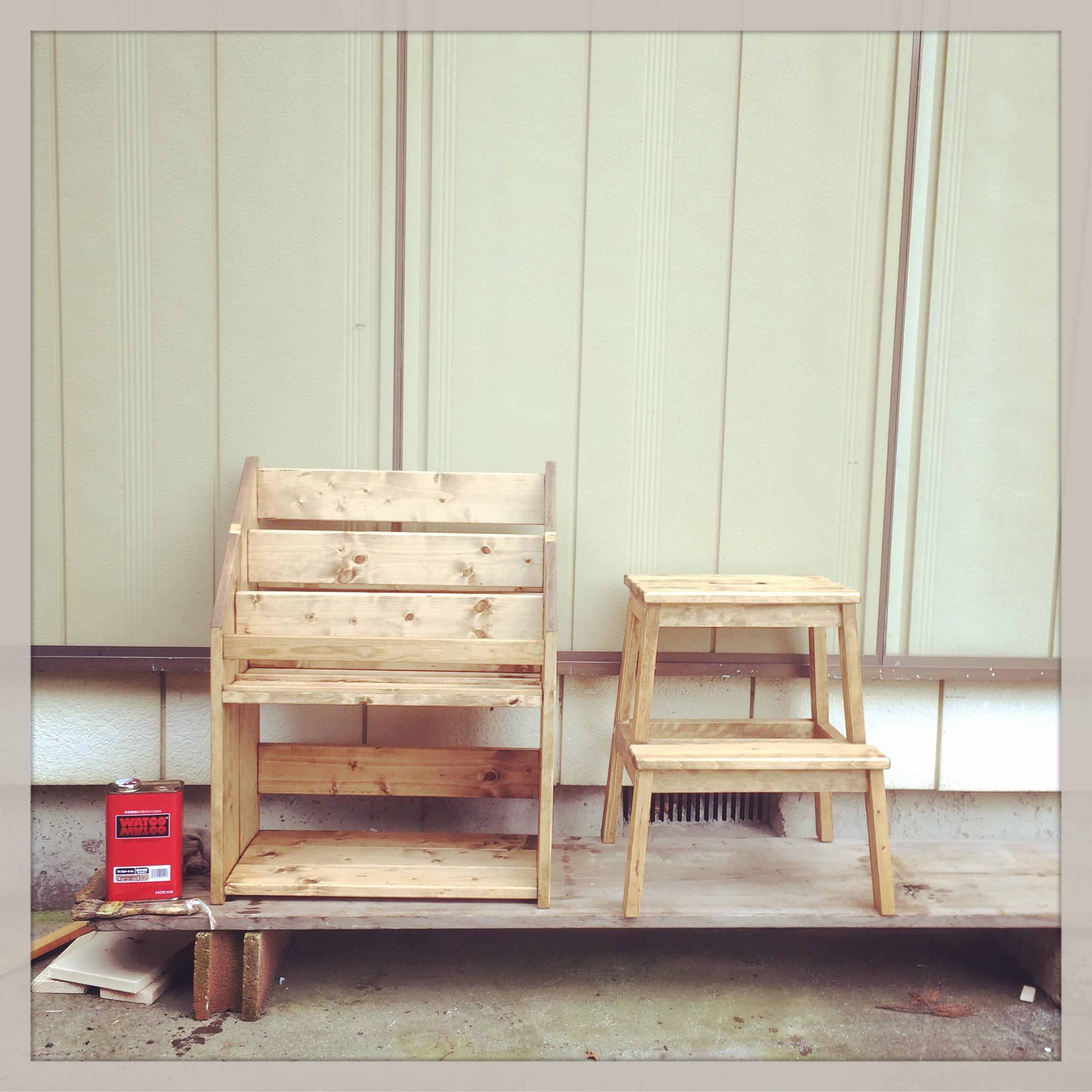 【簡単DIY】子供用の本棚の作り方