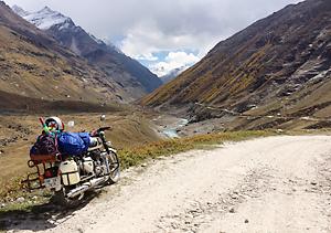 【レンタルバイク旅/インド】チベット文化圏へ・ヒマラヤ山脈を走る14日間