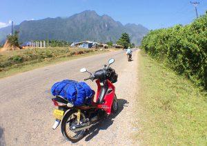 ラオスバイク旅 レンタルバイク ビエンチャン
