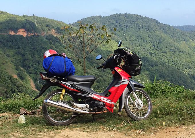 ラオスバイク旅 レンタルバイク ルアンパバーン