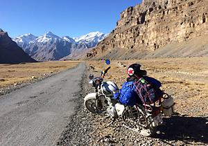 北インド スピティ谷 バイク チベット