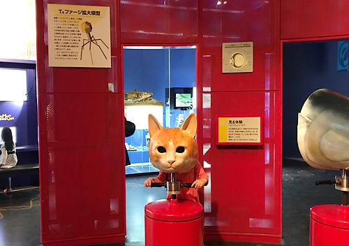 茨城自然博物館に恐竜