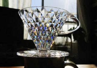 【コーヒー/ドリッパー】「もう割れない」技術の結晶!まさにクリスタルなドリッパー!
