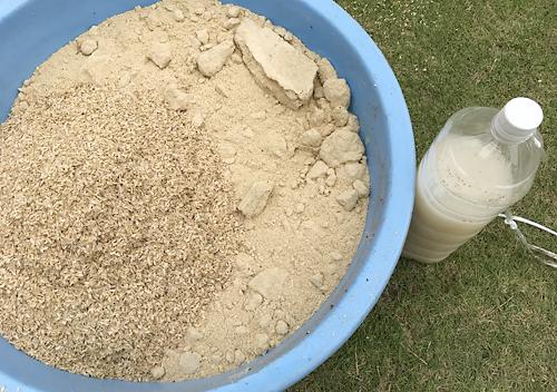 米ヌカぼかしの作り方