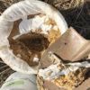 【身近な菌を使ったボカシ作り】6ヶ月熟成した米ヌカぼかしを開封してみた!