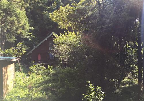 いすみ市中滝アートビレッジキャンプの様子