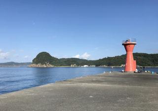 【釣り/下田】7月・旬のアジにイサキ。港に突き出る福浦堤防でチョイと釣り!