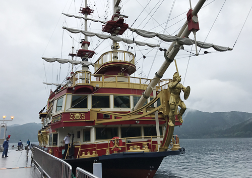 伊豆下田箱根芦ノ湖へ家族旅行