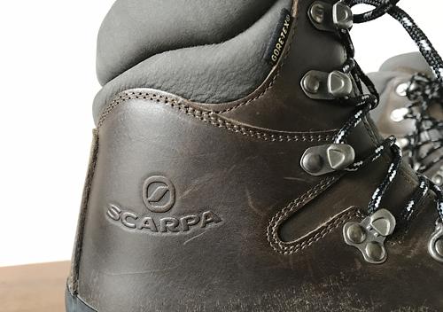 新しいトレッキングシューズに履き替えスカルパGTX