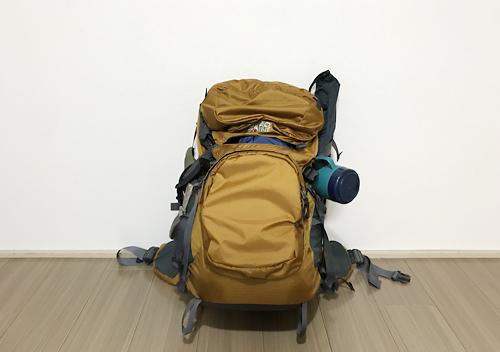 35Lのバックパックに雲取山テント泊の荷物と道具をパッキングする方法