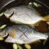 【釣り/レシピ】12月・館山の堤防で釣れたへダイやウミタナゴ、小魚を煮付け酢漬けに!