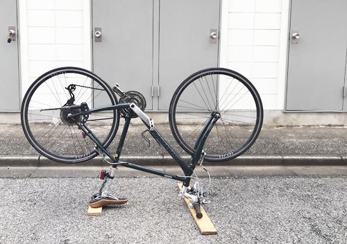 クロスバイク/ジャイアントR3リムテープ交換/シマノ