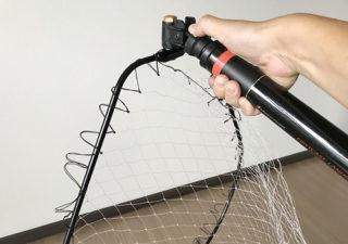 【釣り/タモ網】快適…メジャークラフトのランディングネットにPROXのタモジョイントを装着!