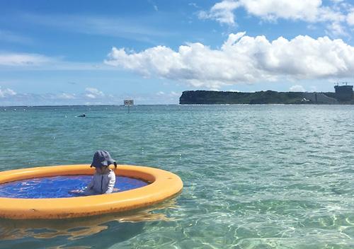 グアム家族旅行でPICに宿泊_ホテル内アクティビティ_ビーチリゾート釣り