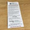 【旅/税関】釣竿は要注意。バックパックに謎の手紙が1枚。TSAチェック入りました〜!