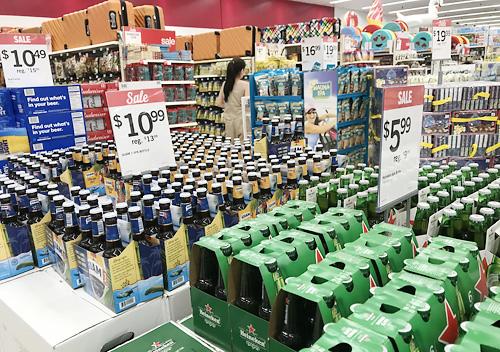 ビール_グアムのお土産_ペイレス、Kマート、ABCストアでお買い物