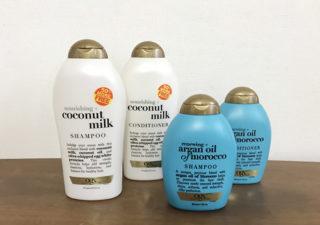 【グアム/お土産】アルガンオイル?ココナッツ?どちらもいい香り。ペイレスでお得サイズのシャンプーを購入。