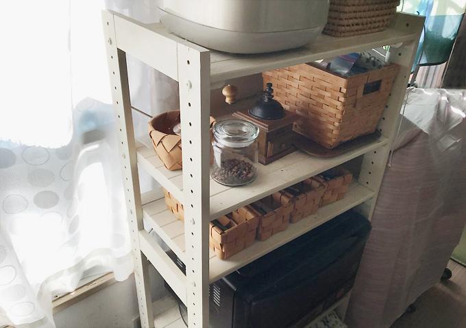 木製ラックを再利用してままごとキッチンを自作する方法