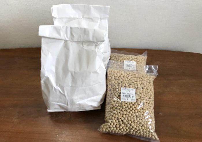 神崎産大豆と鈴木糀店のこうじ購入_自家製味噌作り方