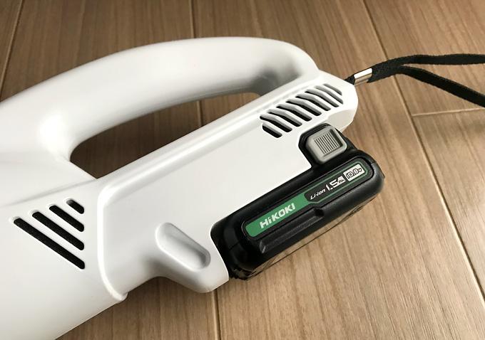 日立HiKOKIのハンディークリーナーが使いやすい!充電式掃除機の比較