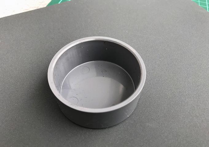 【カングー/DIY】塩ビ管で鉄チン用センターキャップの作り方