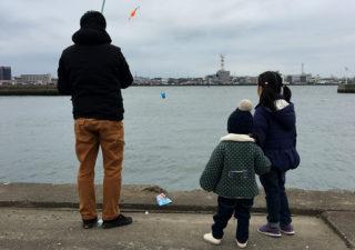 【釣り/波崎・銚子】ピクニックついでに利根川河口でファミリーフィッシング。