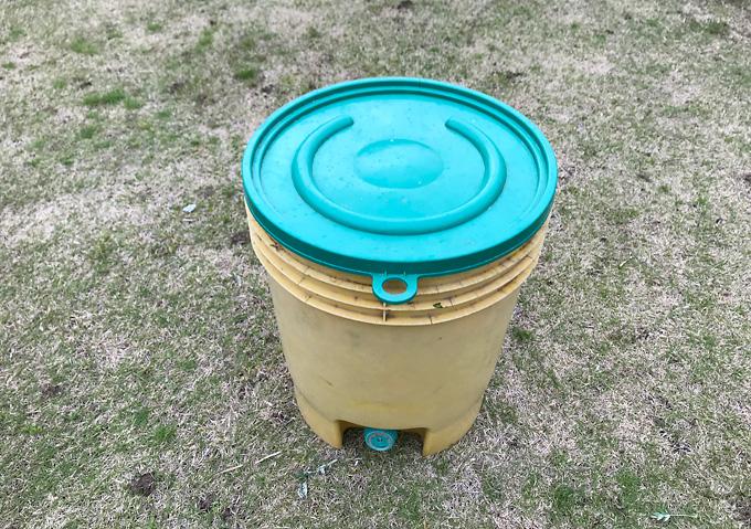 【自然農法】よもぎ液肥/天恵緑汁の作り方