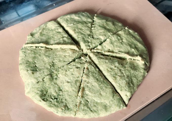 薬膳レシピ:蓬(よもぎ)のスコーンの作り方