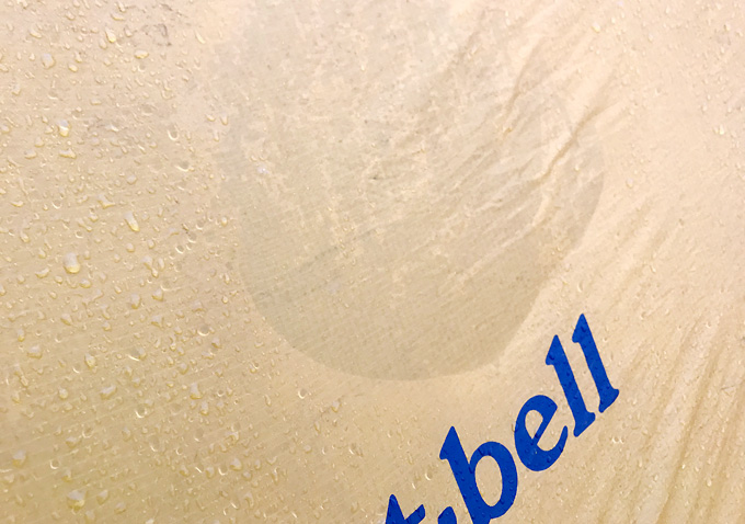 【モンベル】ステラリッジテント・撥水性10年後
