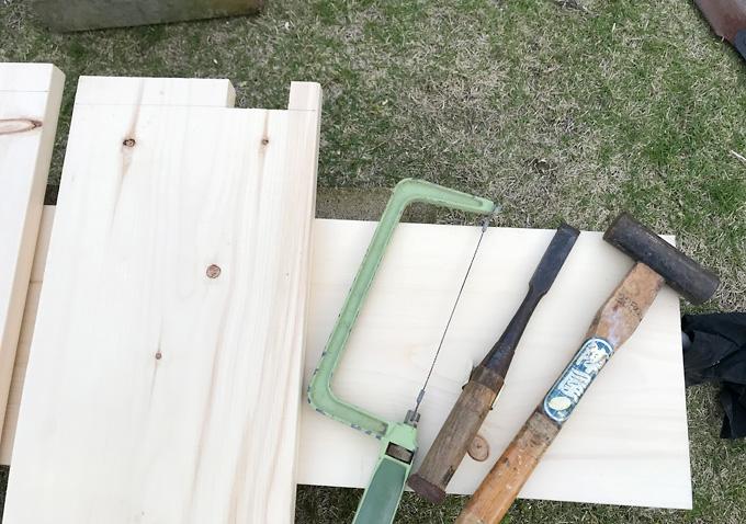 【カングー/カスタム】木製トノボードを自作・工具