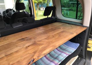 【カングー/DIY】温もり感じる木製トノボードを自作してみました!